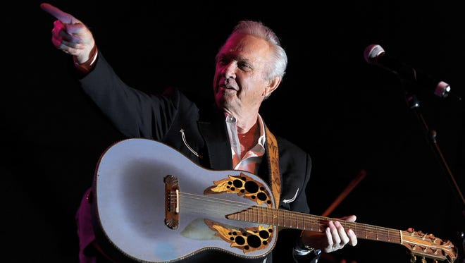 Mel Tillis plays Stagecoach music festival in Indio, Calif., in 2011.