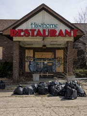 The Hawthorne Valley Restaurant has been vacant for years. It is a magnet for vandals and a dump site.