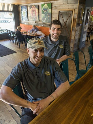 Chef Lamar Farhat and Anthony Ventura welcome you to The Honey Hole.