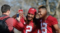 Tens of thousands of fans gathered to celebrate Alabama's latest national championship, one that was especially hard to achieve