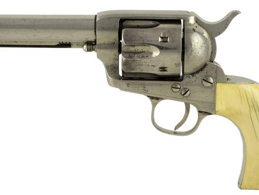 "W.B. ""Bat"" Masterson 1882 Colt SAA .45 Revolver/Aug. 2"