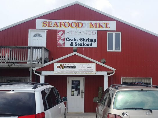 Beach to Bay Seafood in Princess Anne specializes in