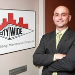 Doug Gardner, President of City Wide Maintenance of Louisville, provides and helps commercial clients manage and upkeep services such as cleaning, landscaping and the appearance of facilities. May 19, 2015
