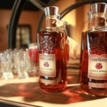 Four Roses products are featured at the visitors center.
