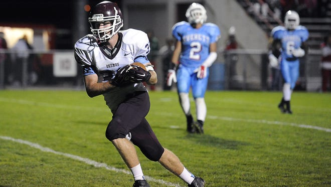 Okemos' Mark Luoma is one of 10 individuals from the area that are finalists for the MHSAA Scholar-Athlete Award.