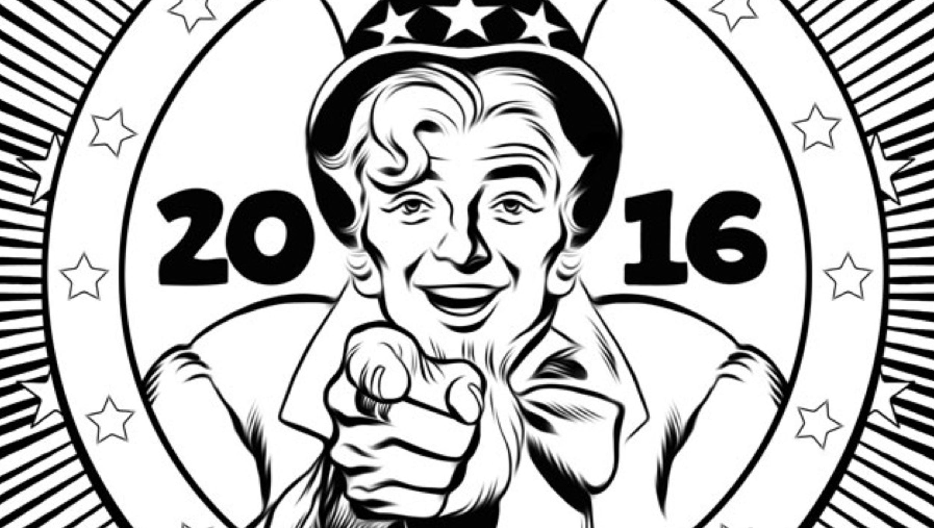 Politics stressing you out? Our 2016 coloring book is here