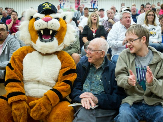 Once a Tiger, always a Tiger. High school mascots can bind generations together.