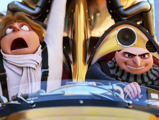 """Find out what happens when Gru meets up with his long-lost twin Dru at a free screening of """"Despicable Me 3"""" on Saturday, April 7 at The Promenade."""