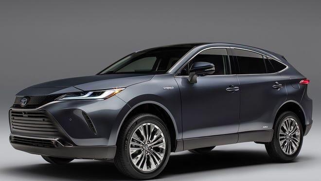 The 2021 Toyota Venza.