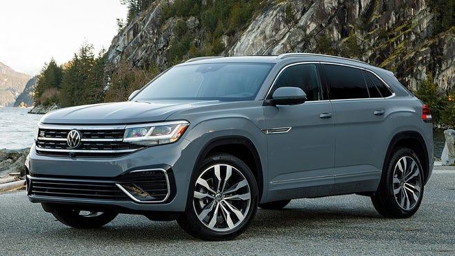 The 2020 Volkswagen Atlas Cross Sport.