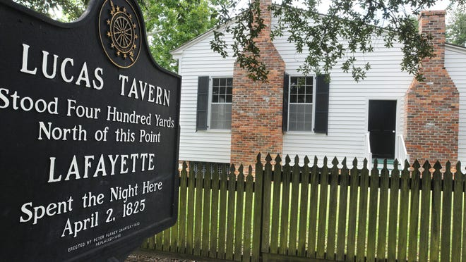 Historic Lucas Tavern in Old Alabama Town.