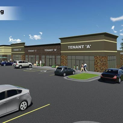 This strip mall in Brandon has attracted a range of retailers and service providers.