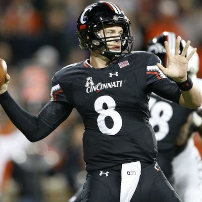 Hayden Moore led UC to an upset of the Miami Hurricanes, but Gunner Kiel is still very much in the quarterback picture.