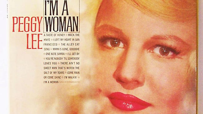 """Peggy Lee made the song """"I'm a Woman"""" famous long before it was co-oped (and rewritten) for a 1980s Enjoli perfume commercial."""