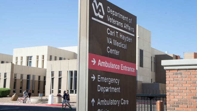 The Phoenix VA Health Care System will try to put its best foot forward today during President Barack Obama's visit.