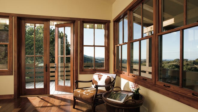 Energy-efficient, well- sealed windows and doors can help reduce cold drafts and hot spots in your home.