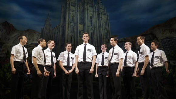 "Cast of ""The Book of Mormon."""