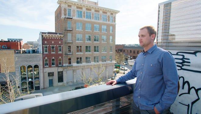 Nate Kaeding, Downtown's new Retail Development Director