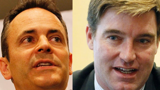 Matt Bevin and Jack Conway.