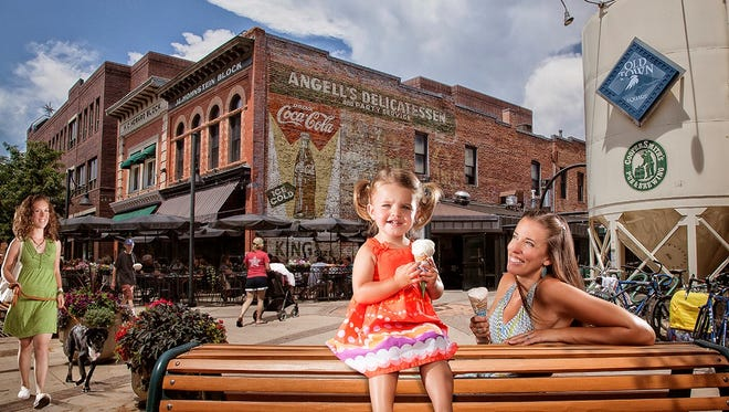 Downtown is also an amazing place for children and adults alike. While most events that happen downtown are family friendly, there are also activities that are designed specifically for the younger set.