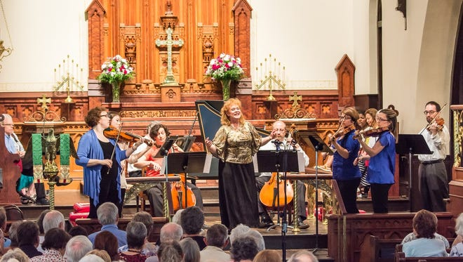 The Tallahassee Bach Parley in performance at Saint John's Episcopal Church.