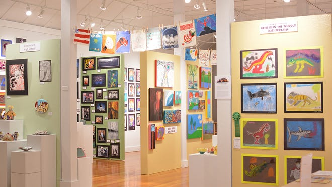 Young Artist Showcase at Bush Bar Art Center is an annual spring show that is family friendly.
