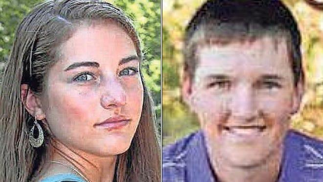 Megan Coenen and Logan Cummings of Shiocton High School are this week's top scholars.