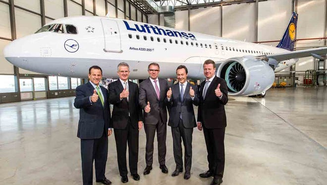 Lufthansa is the launch customer for the Airbus A320neo.