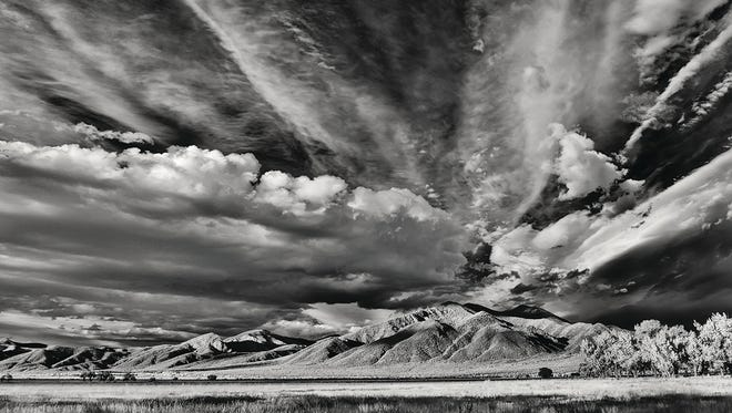 "New Mexico Magazine Photo Contest Winner  Landscape category Jerry Kelley ""Taos Mountains."""
