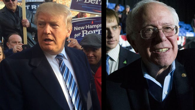 Donald Trump won the New Hampshire primary among the GOP candidates, while Bernie Sanders took the primary among the Dems Tuesday.