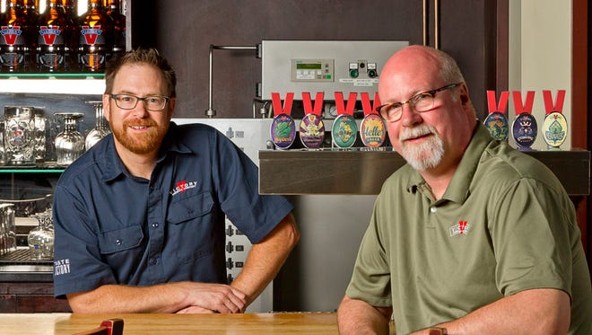Victory Brewing Co. founders Bill Covaleski and Ron Barchet are teaming with New York's Southern Tier Brewing Co. They will still independently operate the breweries.
