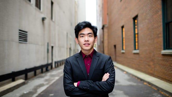 Daniel Hsu will perform Friday at Marshall High School as a part of the 2016 Gilmore International Keyboard Festival.