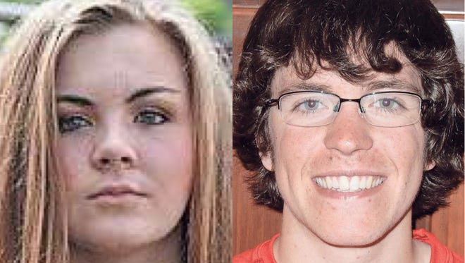 Leah Witthuhn and Travis Hammerstad of Appleton East High School are this week's top scholars.