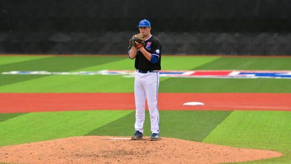 Louisiana Tech pitcher Casey Sutton began the week