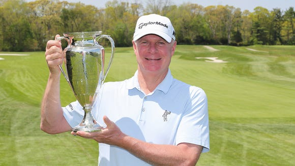 Rye native George Zahringer won the MGA Senior Amateur Championship for the second year in a row.