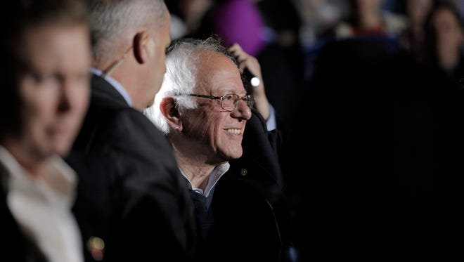 """May 14, 2016 -- Bowling Green, Ky. --Democratic Presidential Candidate Bernie Sanders visited residents of Bowling Green, Ky. on Saturday, May 14, 2016 during his """"A Future to Believe In Bowling Green Rally."""" The event took place at The Historic Railpark and Train Museum."""
