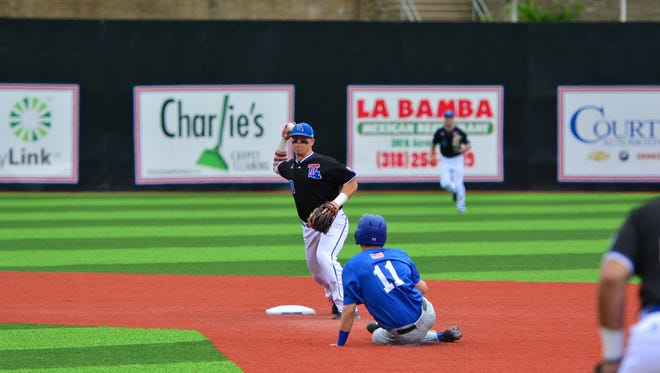 Second baseman Jordan Washam, an OCS produce from Monroe, was one of six players who transferred to Louisiana Tech from Hinds Community College in Mississippi.