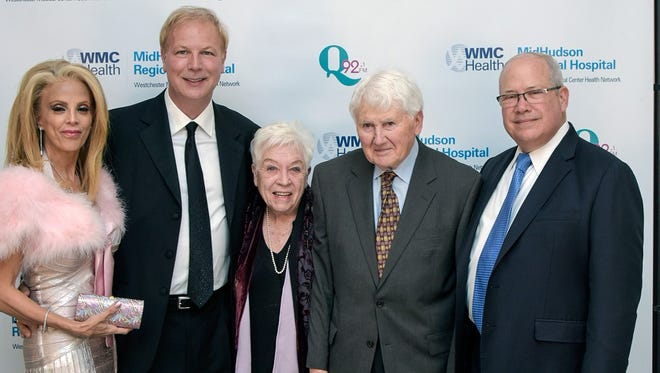 MidHudson Regional Hospital honors Cornelius Verhoest, MD, and Donald and Dale Adams at Dinner At The Falls Gala