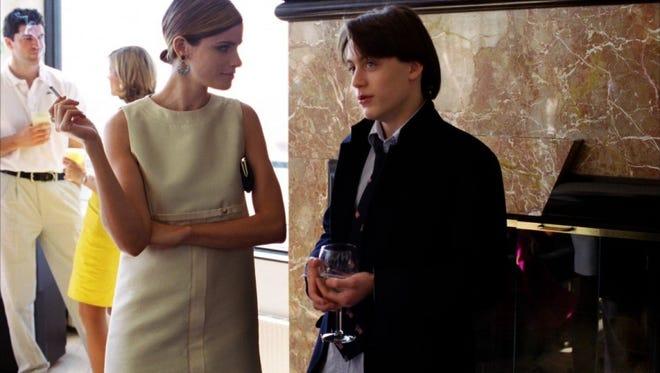 "Amanda Peet and Kieran Culkin in ""Igby Goes Down."""