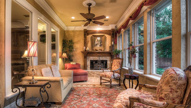 103 Waters Edge Drive is a  5,471 square foot home inside Shreveport's gated Longlake  Subdivision.
