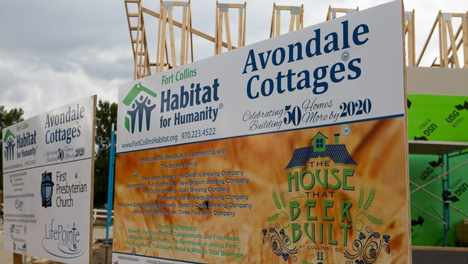 Habitat for Humanity  received $15,000 from GroupGives, a community fund established by The Group Real Estate.