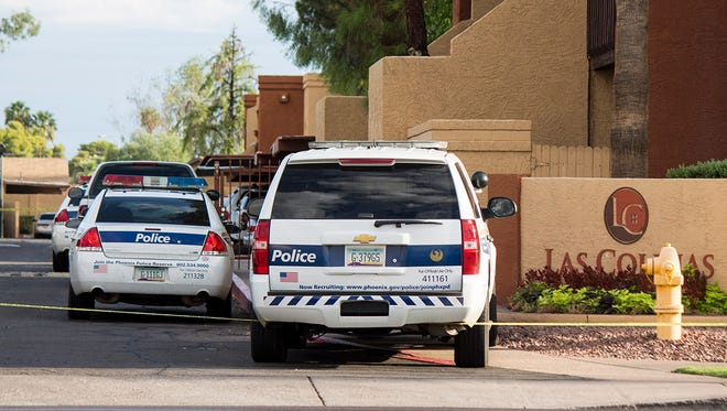 Phoenix police shot and killed a 25-year-old man who pointed a gun at officers on Aug. 27, 2106.