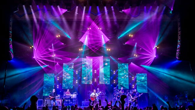 A Widespread Panic show in Asheville in 2016.