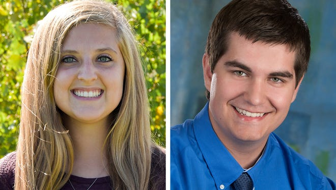 Taylor Schulz and Bryce Archer of Fox Valley Lutheran High School are this week's top scholars.