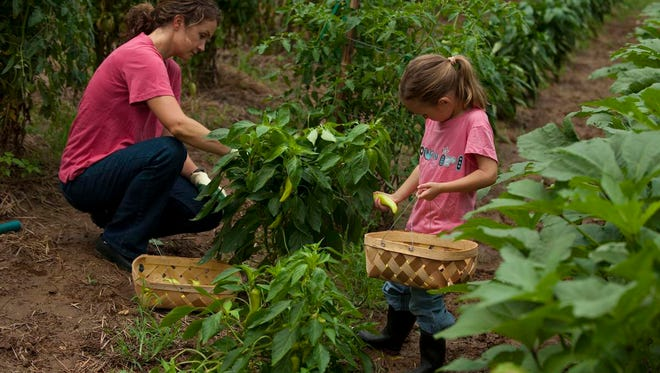 Families everywhere are embracing the adventure of gardening together and learning so much about nature and each other in the process. This photo was originally taken in July 2009.