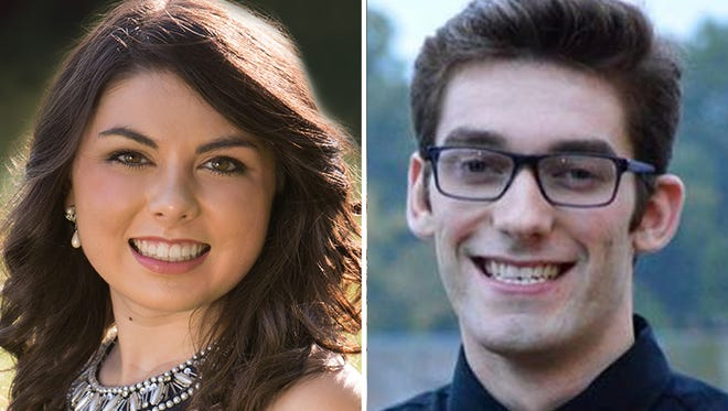Emily Albrecht and Alec Baryenbruch of Xavier High School are this week's top scholars.
