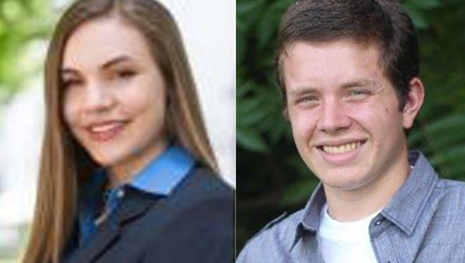 Charlie Fischer and William Wegner from Kimberly High are this week's top scholars.