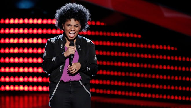 """THE VOICE -- """"Blind Auditions"""" -- Pictured: We' McDonald -- (Photo by: Tyler Golden/NBC)"""