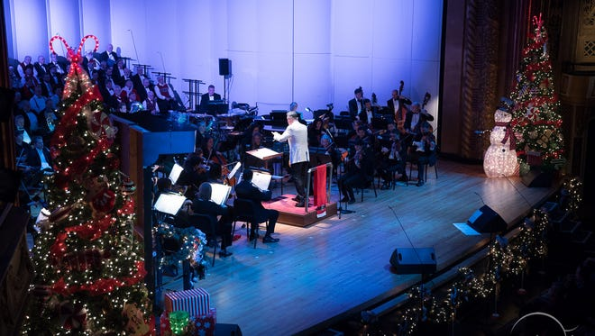 The Peppermint Pops has become a holiday favorite for the Evansville Philharmonic Orchestra.