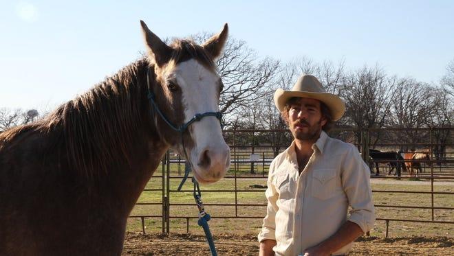 "Stephen Dorff portrays an aspiring country singer in 2017 film ""Wheeler."""